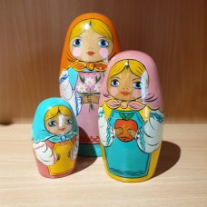 3 Piece Classic Russian Doll