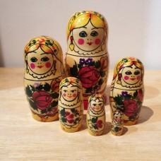 6 piece Mashenka Russian Doll
