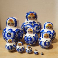 10 piece Russian Doll - Gzhell Style