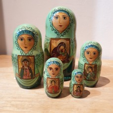 "5 piece Russian Doll ""Icons"""