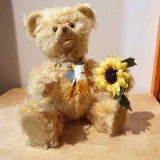 """""""Sunshine"""" Hand made Teddy Bear"""