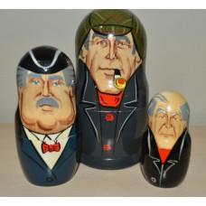3 piece Sherlock Holmes Russian Doll