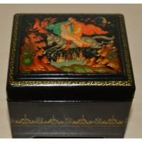 Lacquer Box - The Grey Wolf
