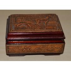 Box with Birch bark inlay