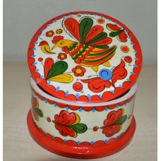 Hand Painted Folk Art box