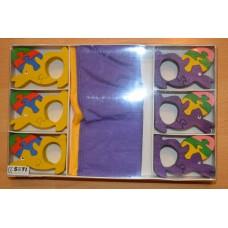 Easter napkin set