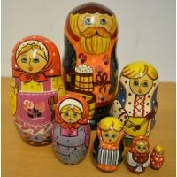 7 Piece Merchant Russian Doll