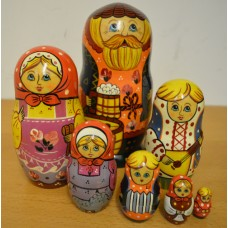 7 Piece Merchant Russian Doll