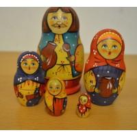 5 piece Vanya Manya Russian Doll