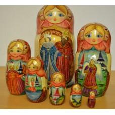 7 piece fairy tale Russian Doll