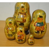 5 piece Old Moscow Russian Doll