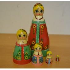 5 piece  Kirov maiden Doll