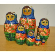 7 piece babushka russian doll