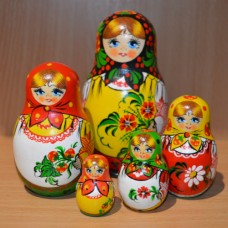 5 piece classic Russian Doll