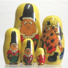 5 Piece welsh Doll