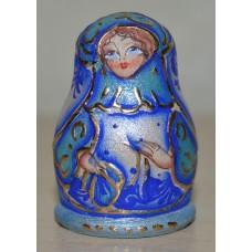 Thimble - Blue Lady