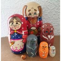 7 piece Kolobok   Russian Doll