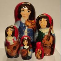 5 Piece Musicians