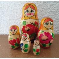 5 piece Kirov Russian Doll