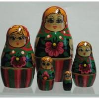 5 Piece Babushka Russian Doll