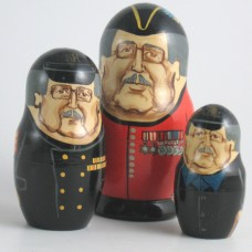 3 Piece Chelsea Pensioner Russian Doll