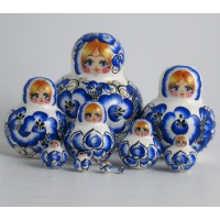 10 Piece Gzhell style RUssian Doll