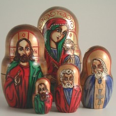 5 Piece Icon Russian Doll