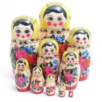 10 Piece Semyenov  Russian Doll