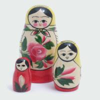 3 Piece Semyenov Russian Doll