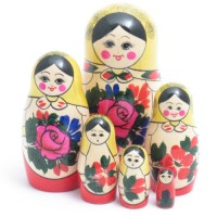 6 piece Semyenov  Russian Doll