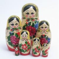 7 Piece Semyenov  Russian Doll