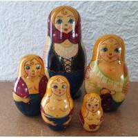 5 piece Stripper  Russian Doll
